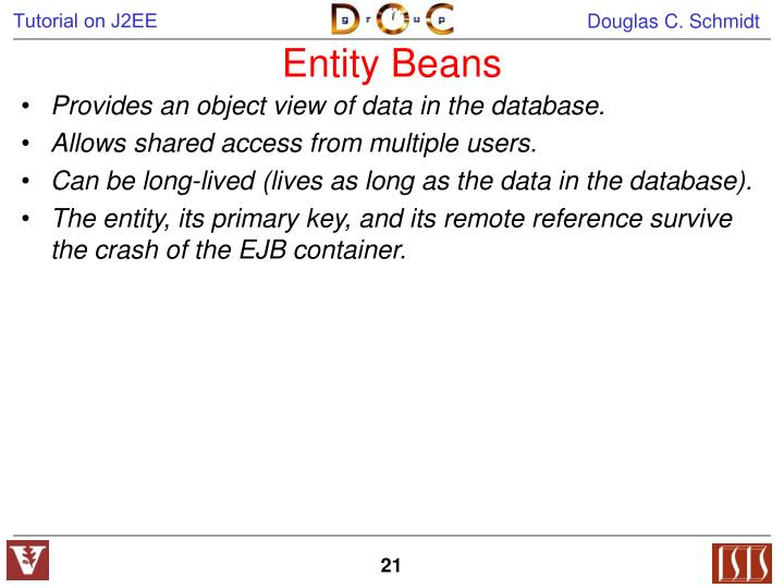 Entity Beans