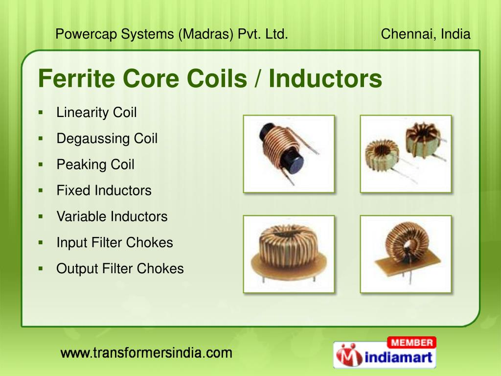 Ferrite Core Coils / Inductors