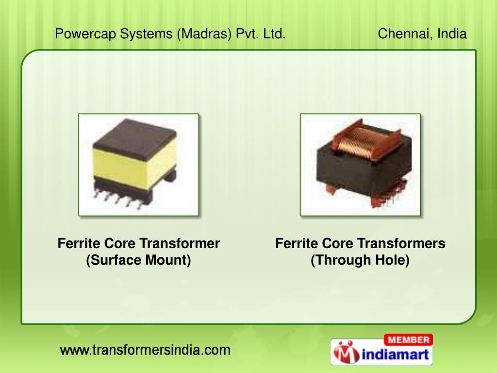 Ferrite Core Transformer (Surface Mount)