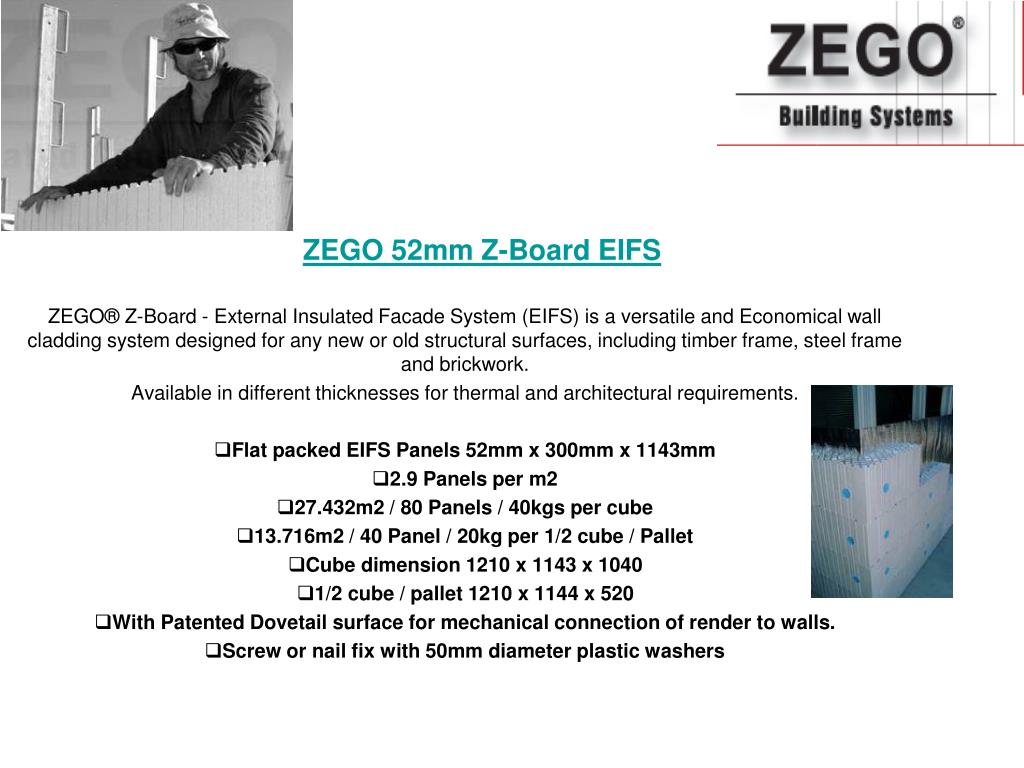 ZEGO 52mm Z-Board EIFS