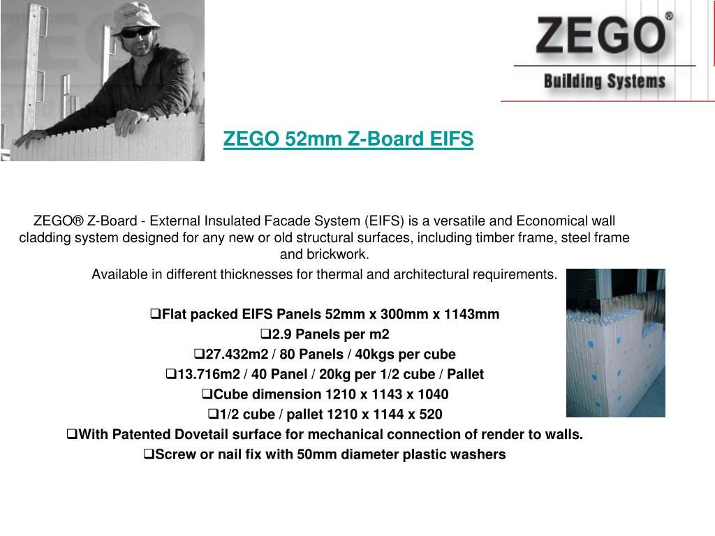 ZEGO 52mm Z-Board EIFS