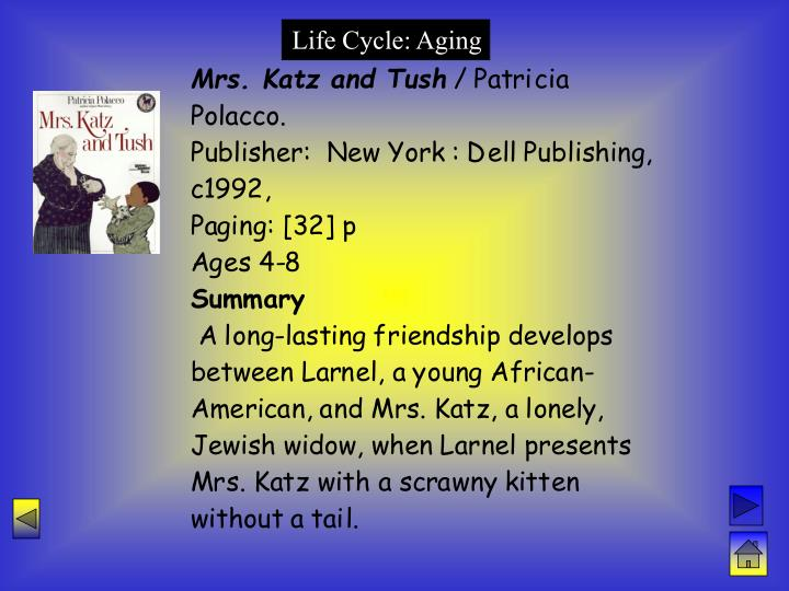 Life Cycle: Aging