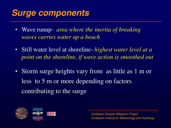 Surge components