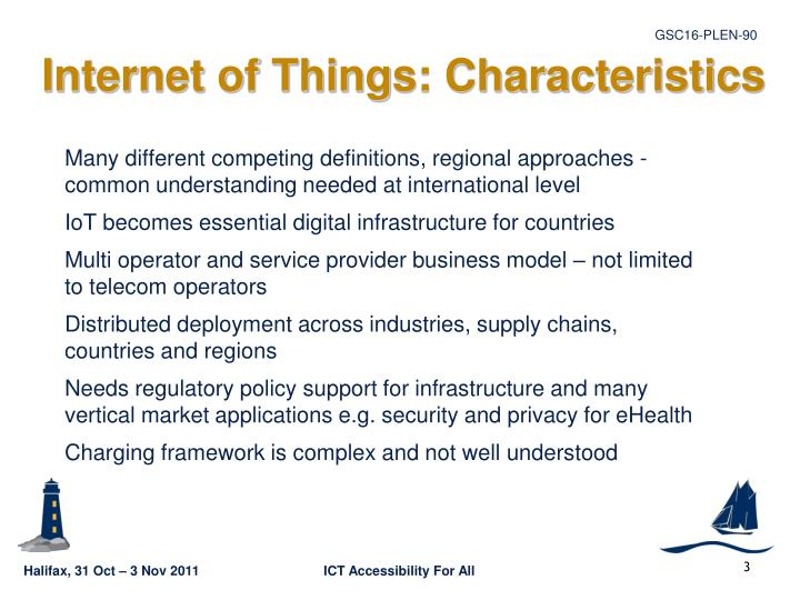 Internet of Things: Characteristics