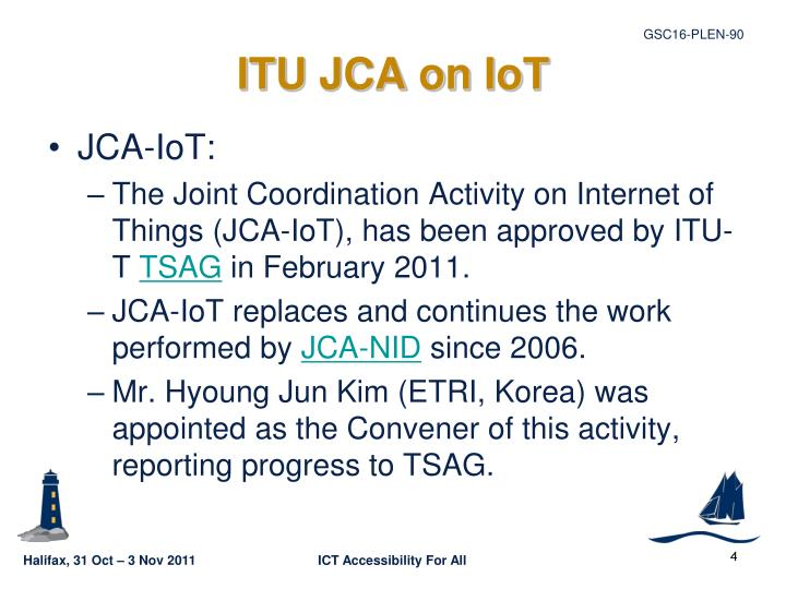 ITU JCA on