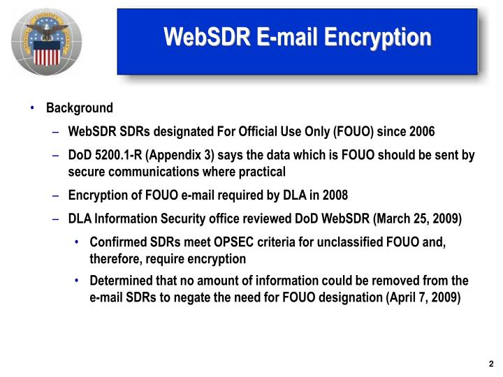 Websdr e mail encryption1