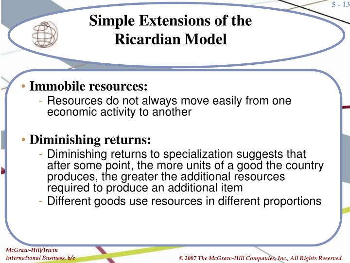 Immobile resources: