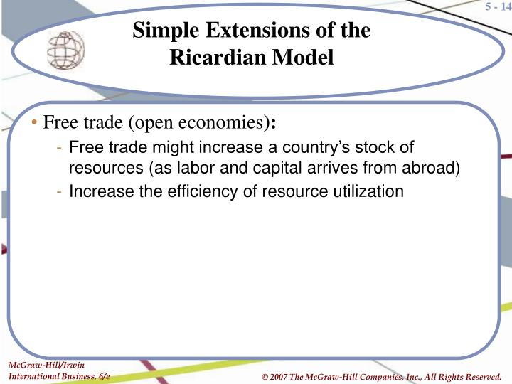 Free trade (open economies
