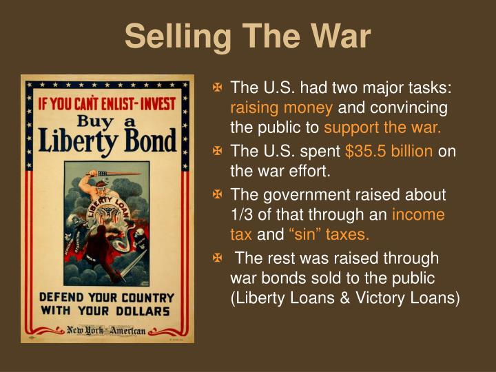 The U.S. had two major tasks: