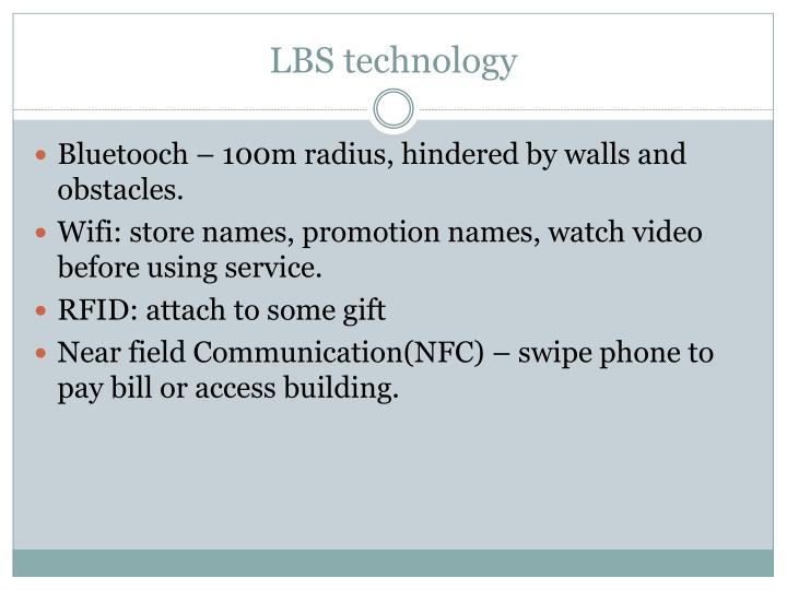 LBS technology