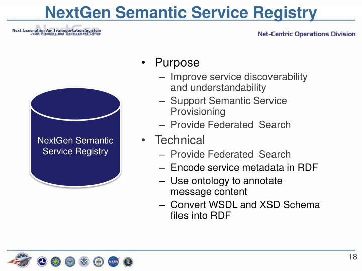 NextGen Semantic Service Registry