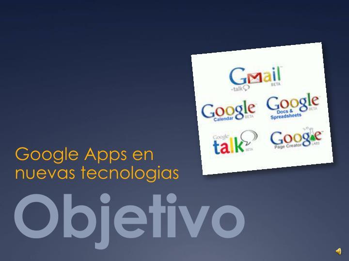 Google Apps en
