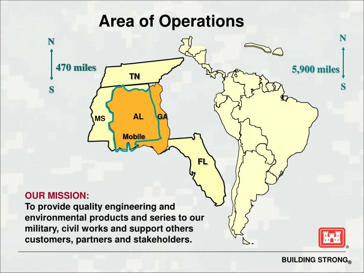 Area of Operations