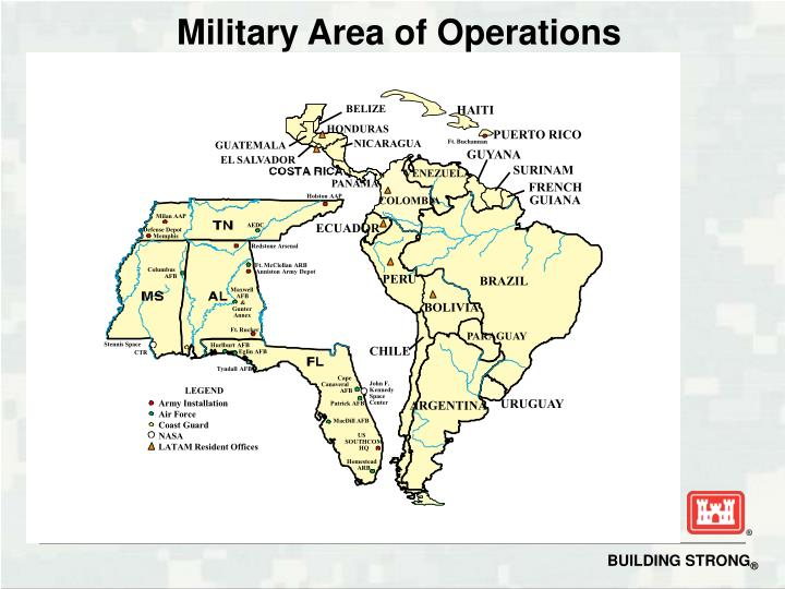 Military Area of Operations