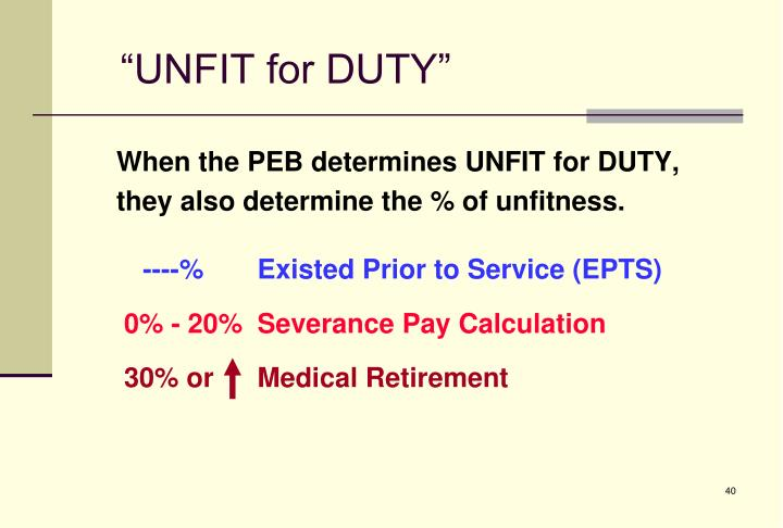 army rcp severance pay