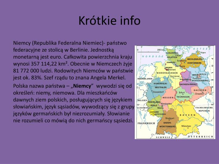 Krótkie info