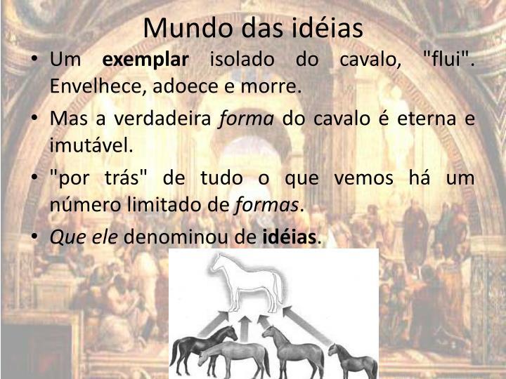 Mundo das idéias