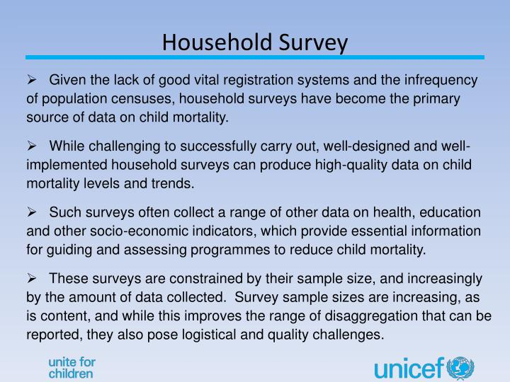 Household Survey