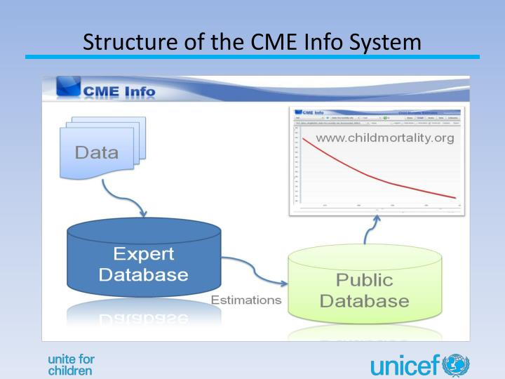 Structure of the CME Info System
