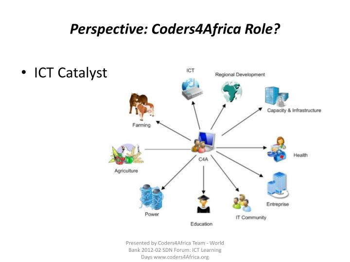 Perspective: Coders4Africa