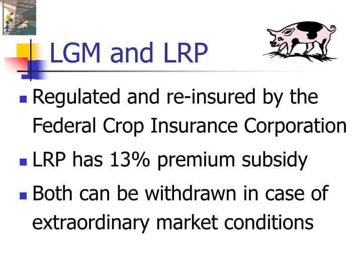 LGM and LRP