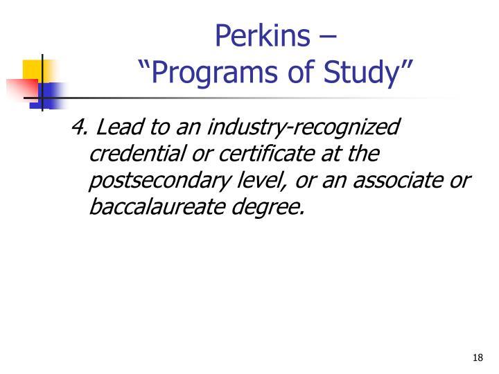 Perkins –