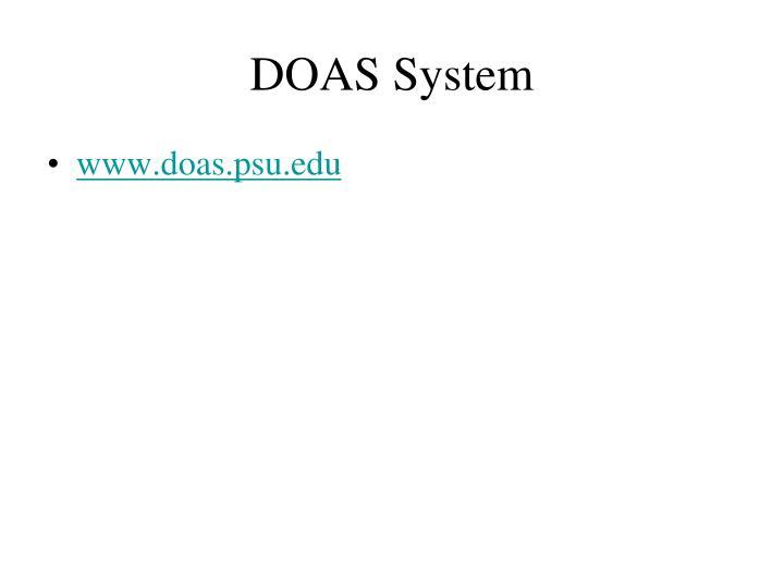DOAS System