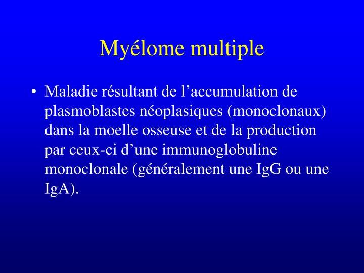 Myélome multiple