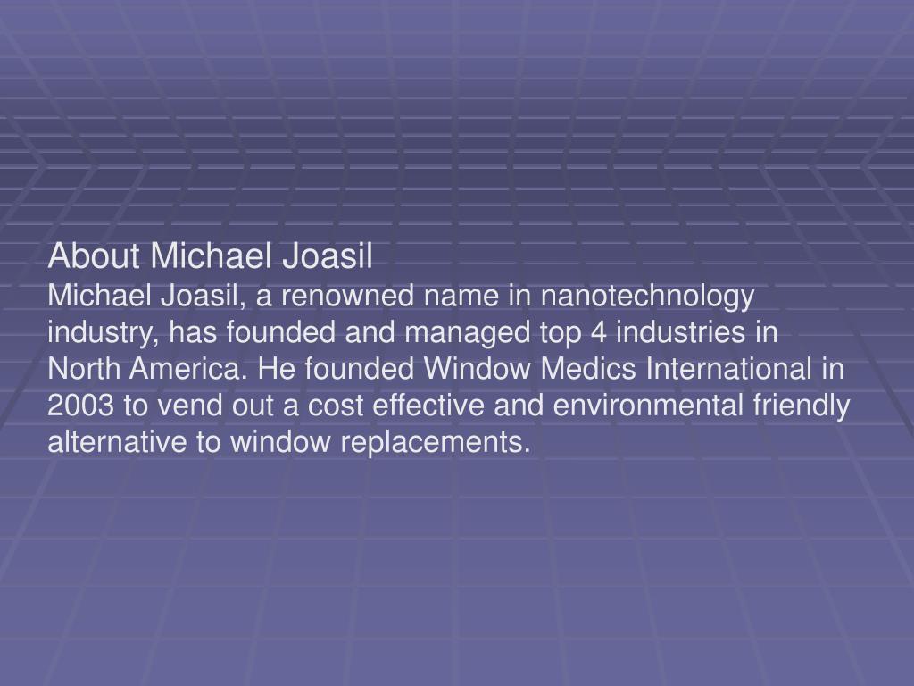 About Michael Joasil