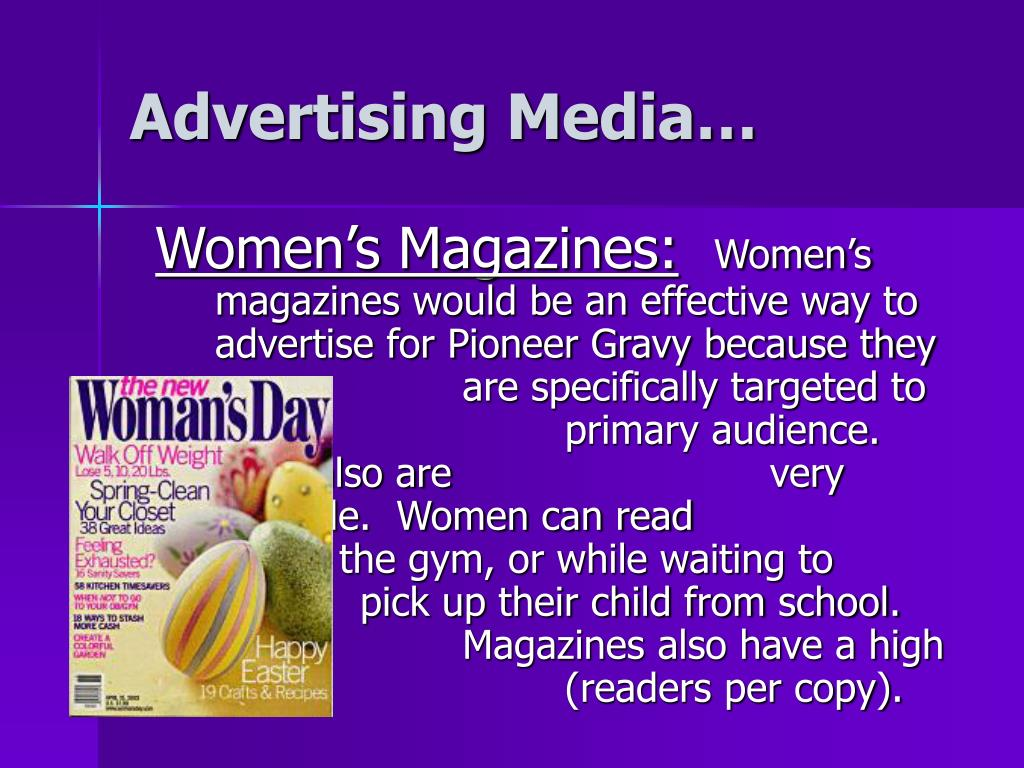 Advertising Media…