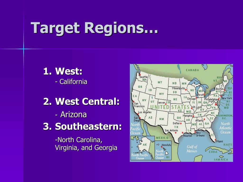 Target Regions…