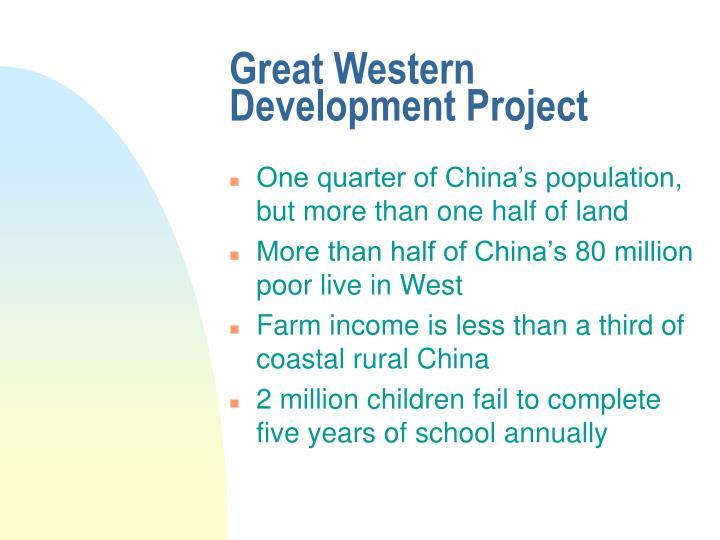 Great Western Development Project
