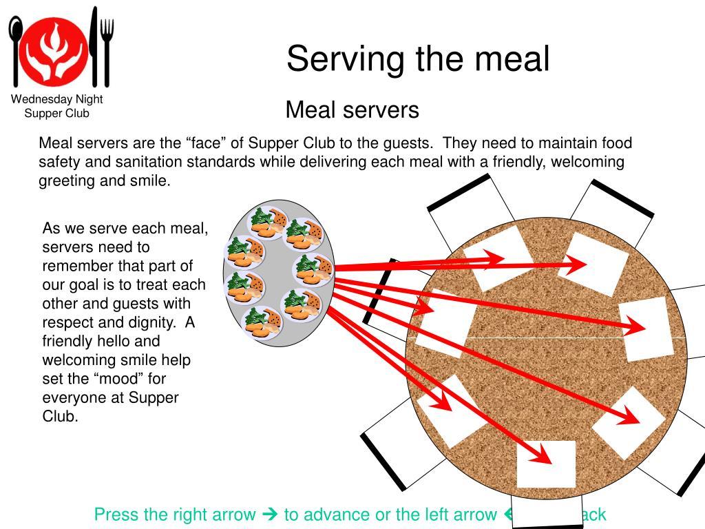 Meal servers