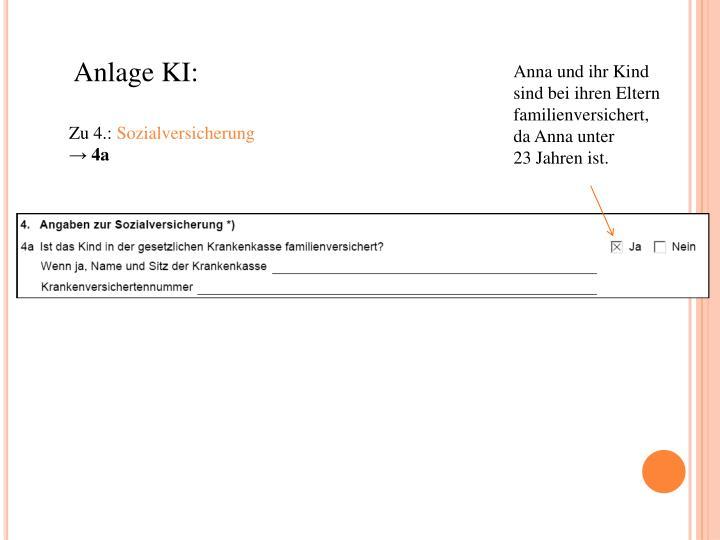 Anlage KI: