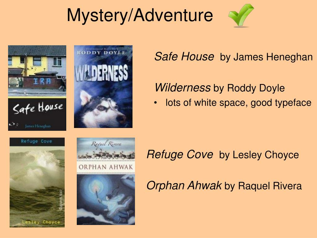 Mystery/Adventure