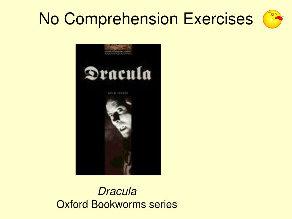 No Comprehension Exercises