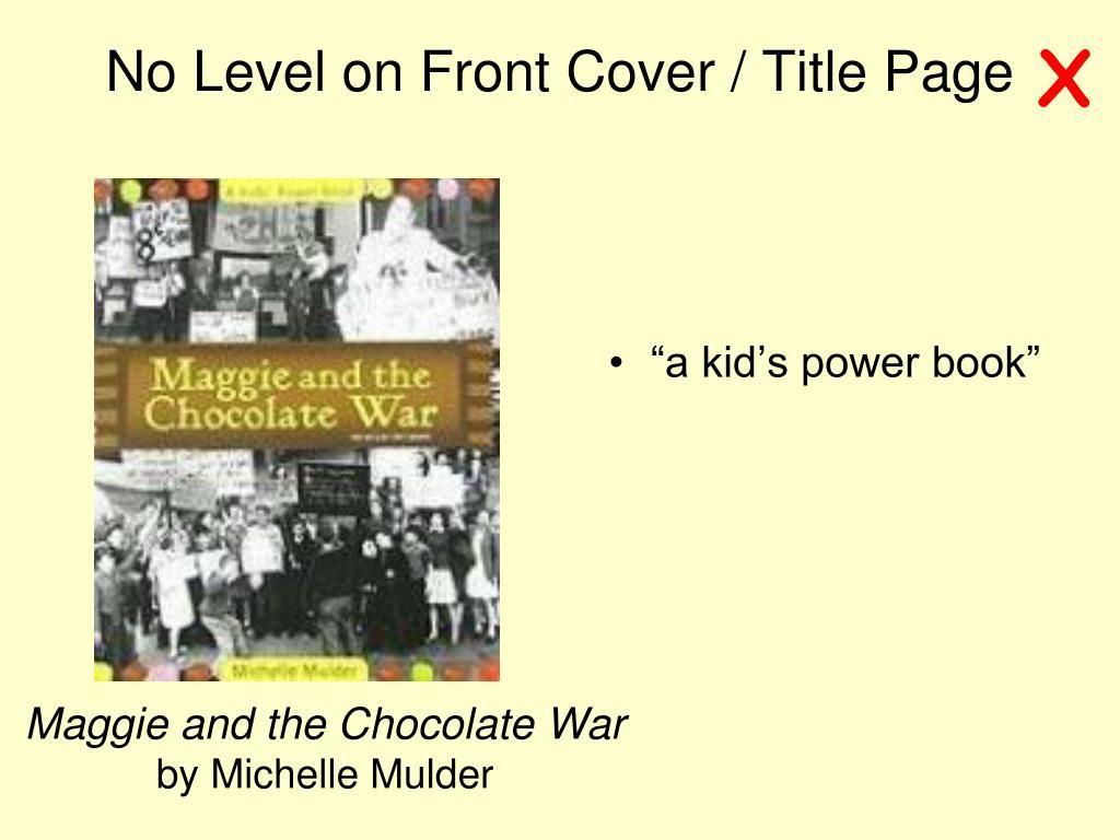 """a kid's power book"""