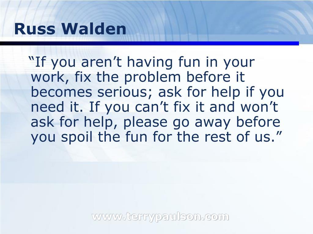 Russ Walden