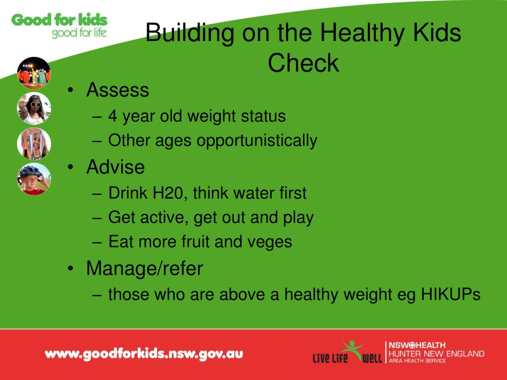 Building on the Healthy Kids Check
