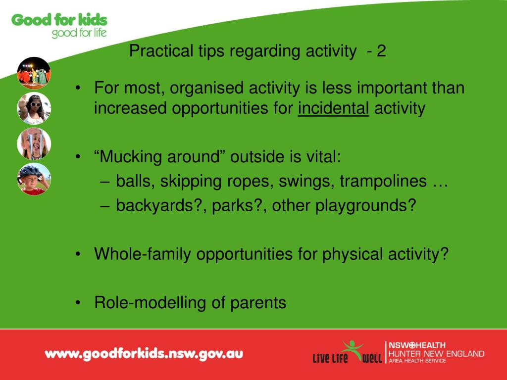 Practical tips regarding activity  - 2