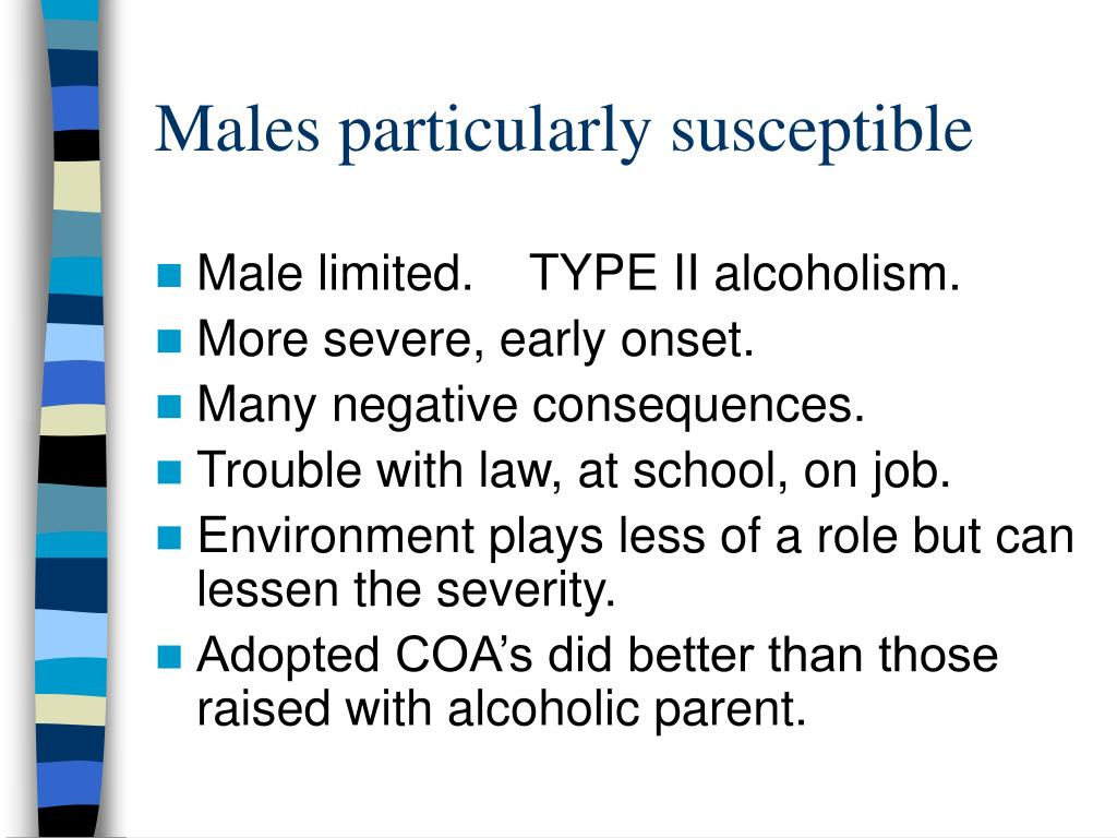 Males particularly susceptible