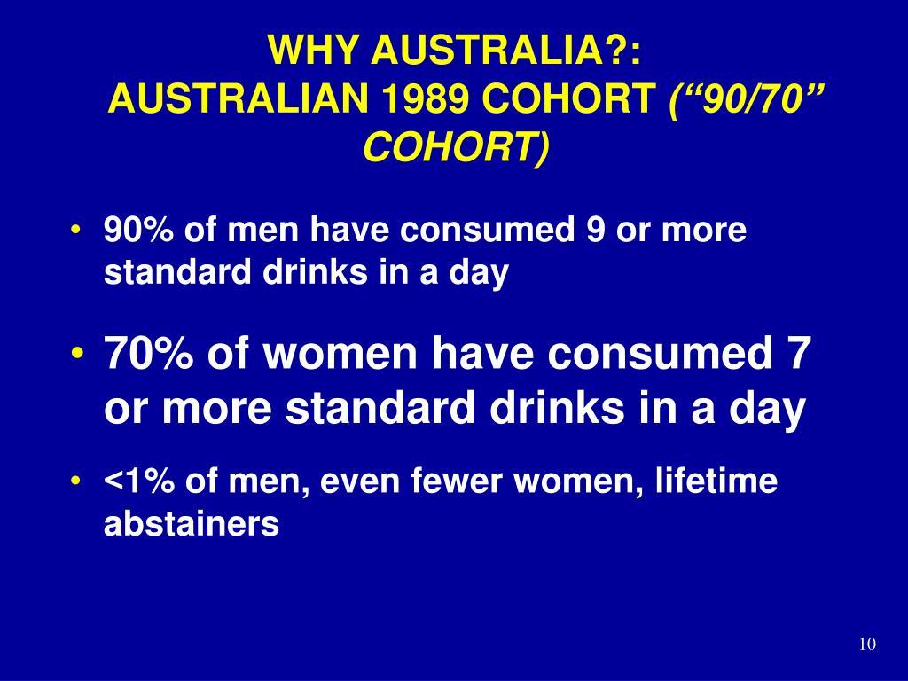 WHY AUSTRALIA?: