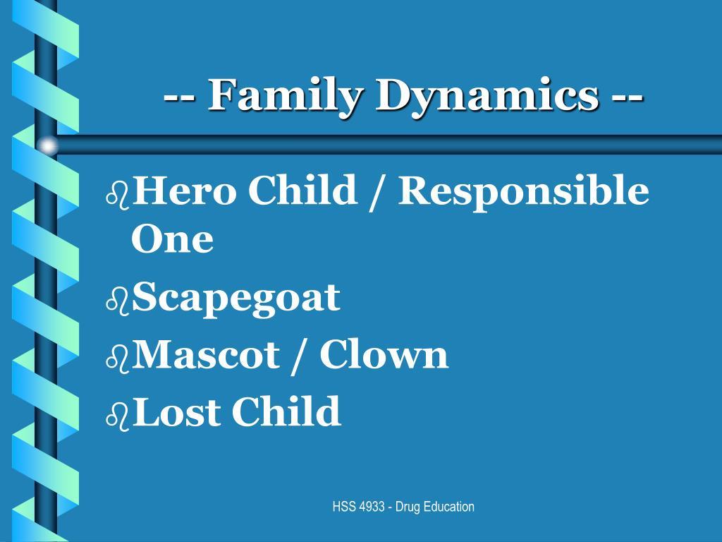 -- Family Dynamics --
