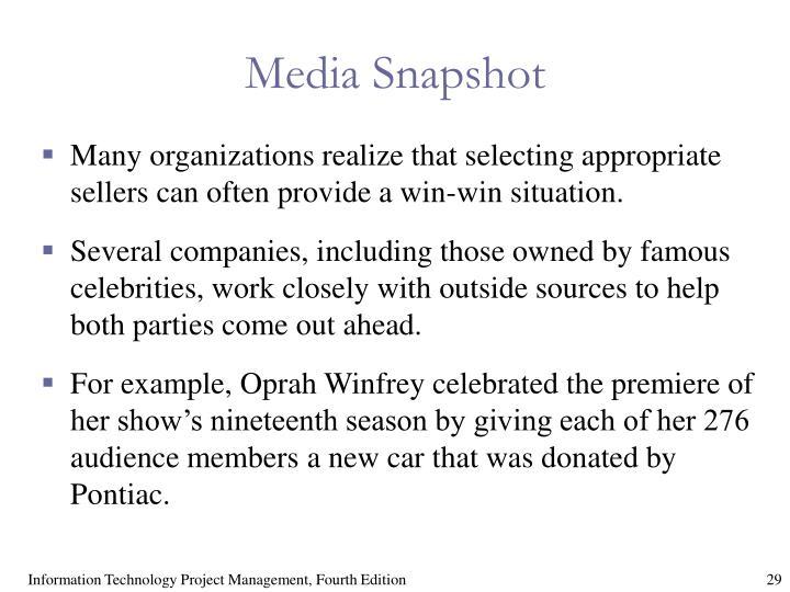 Media Snapshot