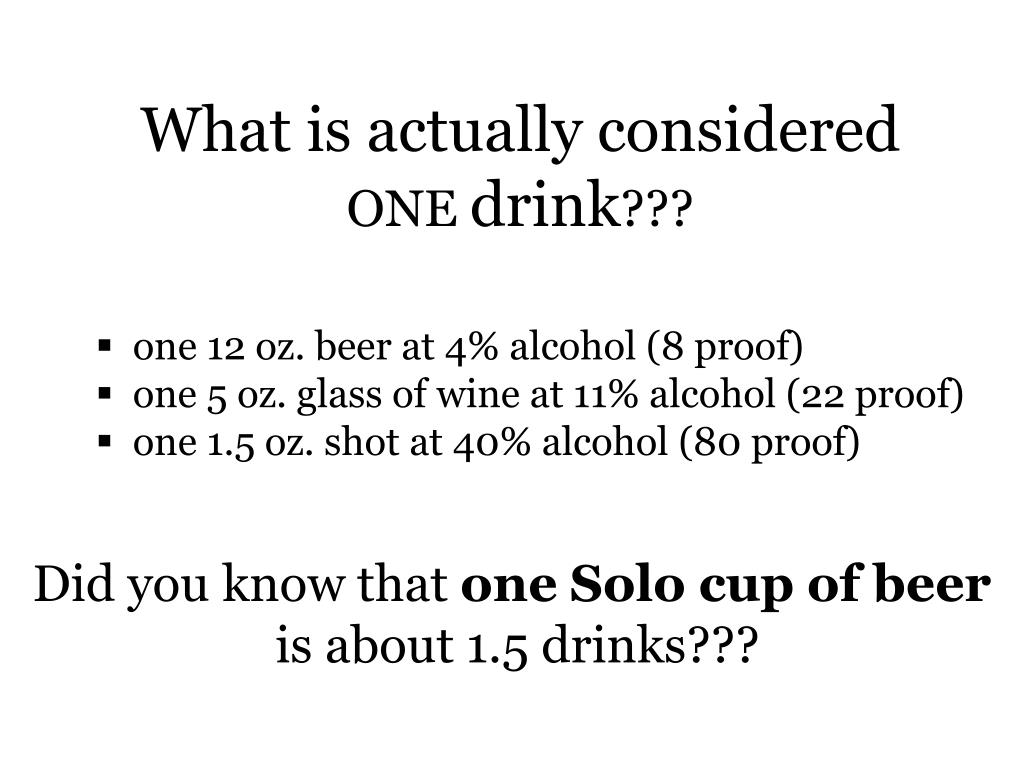 What is actually considered
