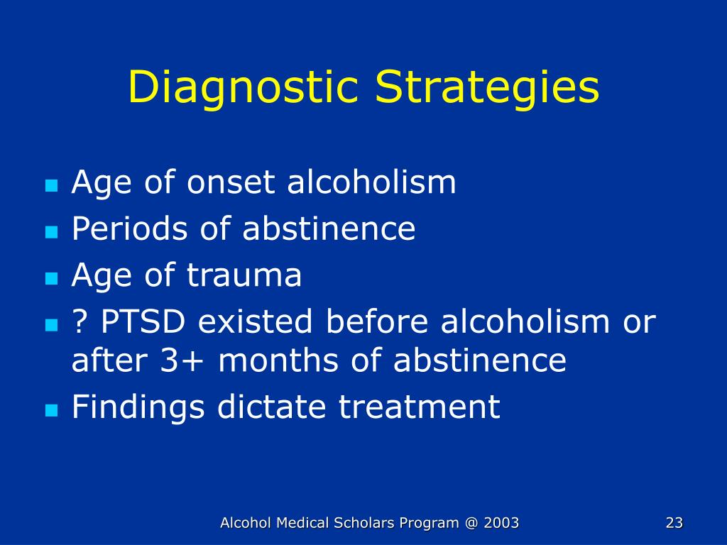 Diagnostic Strategies