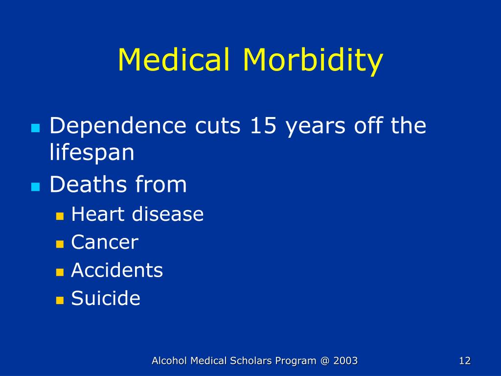 Medical Morbidity