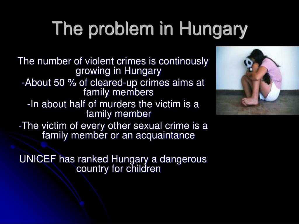 The problem in Hungary