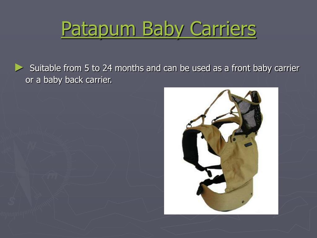 Patapum Baby Carriers