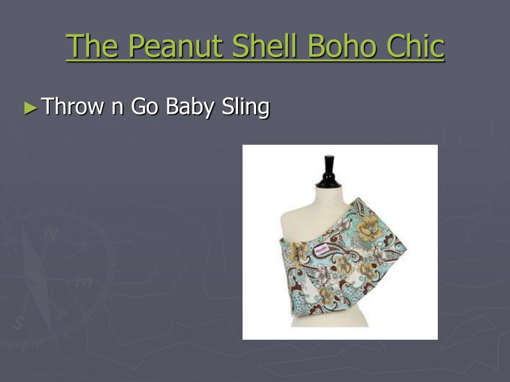 The Peanut Shell Boho Chic